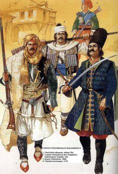 Military leaders had a dominant role in the Ottoman state a polity geared to war and expansion. The Turkic horsemen became a warrior aristocracy supported by control of conquered land and peasants. - Ottomans - Ideas of Ottomans Historical Art, Historical Costume, Historical Clothing, Military History, Military Art, Military Clothing, Empire Ottoman, Military Costumes, Military Uniforms