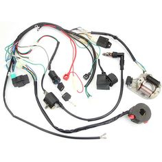 (eBay Advertisement) Wire Harness Assembly Wiring Bike CDI