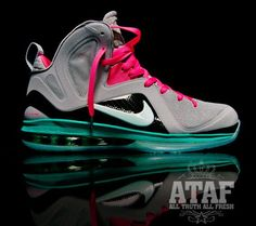 "Nike Lebron 9 - Elite ""South Beach"" Basketball shoes next year? #holla"