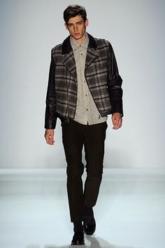 Cole Mohr -- Timo Weiland Fall 2012 #nyfw