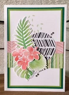Stampin Up, Tropical Chic