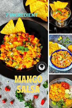 Mexican Food Recipes, Vegetarian Recipes, Mango Collection, Mango Salsa Recipes, Star Food, Sweet And Spicy, Us Foods, Super Simple, Recipe Box