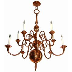 Vintage lighting 1920s thistle high quality copper chandelier vintage lighting 1920s thistle high quality copper chandelier extraordinary chandeliers lights and vintage aloadofball Gallery