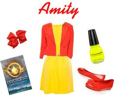 """""""Divergent Style Presents.... Amity"""" by stormsprite on Polyvore"""