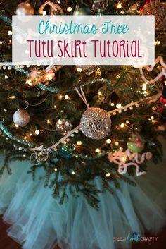 Christmas Tree Tutu Skirt