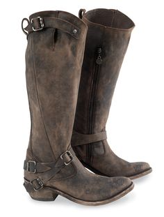 Great for the outdoor shooting range -- range rider boots   crows nest trading #gungirl