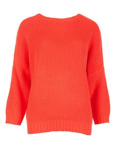 Tuck stitch sweater - Bright Red | Sweaters | Ted Baker medium in cream for someone i know