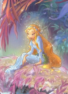 Rani, the Wingless Water Fairy of Pixie Hollow