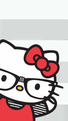 Hello Kitty Art, Hello Kitty Coloring, Hello Kitty Pictures, Sanrio Hello Kitty, Bow Wallpaper, Cartoon Wallpaper, Hello Kitty Wallpaper Free, Hello Kitty Christmas, Manga Cute