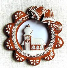 Today we are looking at Moravian and Bohemian gingerbread designs from the Czech Republic. Back home, gingerbread is eaten year round and beautifully decorated cookies are given on all occasions. Christmas Gingerbread House, Gingerbread Man, Christmas Treats, Gingerbread Cookies, Holiday Cakes, Holiday Desserts, Bolacha Cookies, Winter Treats, Edible Art