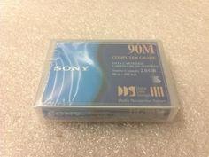 Sony DG90M Computer Grade Data Cartridge by Sony. $6.00