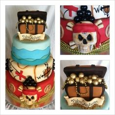 Pirate Themed Ba Shower Cake Beth Anns in sizing 2304 X 3072 Pirate Themed Baby Shower Cake - Gone are the days when baby showers were designed on Pirate Birthday, Pirate Theme, Pirate Party, Birthday Cake, Birthday Ideas, Baby Shower Cakes, Baby Shower Themes, Baby Boy Shower, Cupcakes