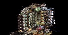 Met fotos een 3D model maken hoe ver kan je daarmee gaan? Kunstenaars van het Turkse bedrijf Oddviz  maakte 10.000 fotos om dit hotel in de computer.