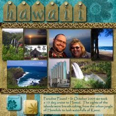 Hawaii Scrapbooking