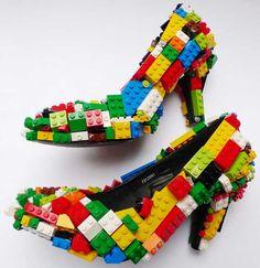 Bem Legaus!: Sapatos de Lego