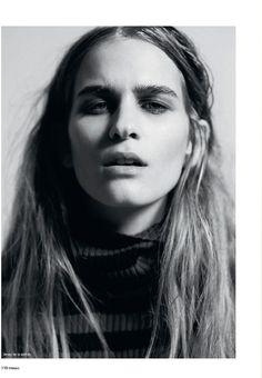 This lady is so mesmerising: Ela Grego by Andrea Massari for Tendencias Magazine