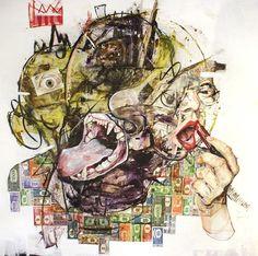 Artistaday.com : Los Angeles, CA artist Wyatt Mills via @artistaday