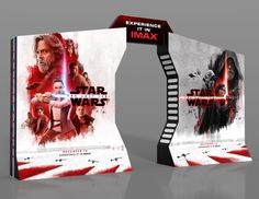 #StarWars #TheLastJjedi #IMAX Display Features Luke On The Dark Side? #StarWars