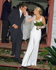 who can forget the dress?  gorgeous couple   ... where in an old African Baptist church near St. Simons??
