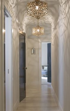 These Light Fixtures Would Look Great With My Gold Mirrors Pictures In The Master Bedroom Confetti Cube Pendants Christopher Pea San Francisco