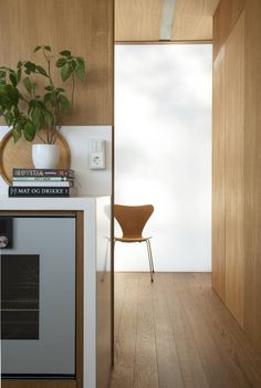 Knut Hjeltnes Arkitekter Decor, Furniture, Room, Interior, Corner Desk, Home Decor, Room Divider, Divider, Desk