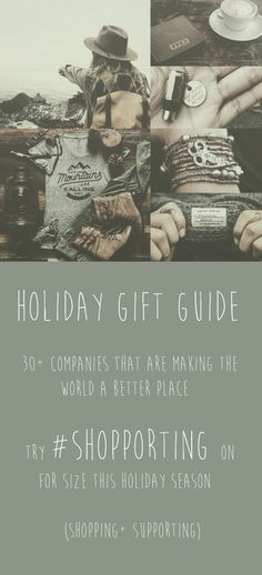 #Ethical #FairTrade gifts that give back