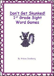 "Best Practices 4 Teaching Literacy: Students will love learning sight words with ""Don't Get Skunked!"""