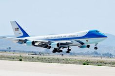 Learn about the cost of building and flying Air Force One. Find out when the president uses Air Force One and how he reimburses taxpayers for the cost. Military Jets, Military Aircraft, Military Girl, Us Air Force, Air Force Ones, Fly Air, Boeing Aircraft, Boeing Planes, First Plane