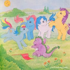 G1 My Little Pony