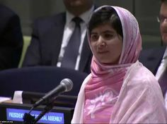 A Girl The Taliban Tried And Failed To Kill Just Gave An Extraordinary Speech On Women's Rights At The UN