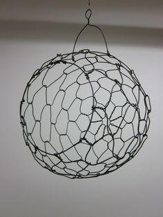 Hanging Sphere Fruit Basket