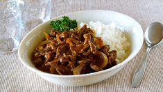 Create Eat Happy :): How to Make Hayashi Rice (Hashed Beef) - Video Rec...