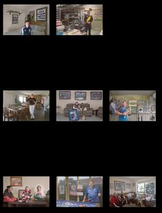 All of my selected final images together, to see if the series flows cohesively together.