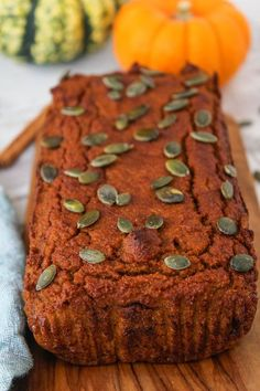 One bowl, healthy Paleo pumpkin bread made with coconut flour, natural sweeteners and wholesome ingredients for the perfect fall treat.