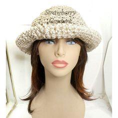 Floppy Sun Hat Floppy Hat Womens Crochet Hat Crochet Womens Hat Trendy Hemp Hat Natural Hat MONCHERIE Wide Brim Hat Strawberry Couture by strawberrycouture by #strawberrycouture on #Etsy