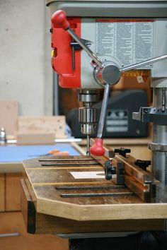 Shopnotes Drill Press Table - by JasonWagner @ LumberJocks.com ~ woodworking community