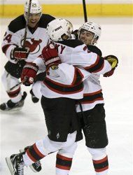Round 1 - #NewJersey Devils over #Florida Panthers (Series 4-3)