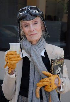 Mimi Weddell... love her style.
