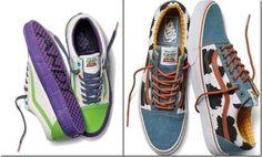 Foi confirmado a parceria entra a Vans e a Disney para o lançamento da coleção de calçados Toy Story, um dos sucessos da Disney Pixar.  Serão modelos Old Skool, Era and Sk8-Hi e com cores inspiradas nas roupas dos personagens como Woody, Buzz Lightyear e Jessie entre outros.
