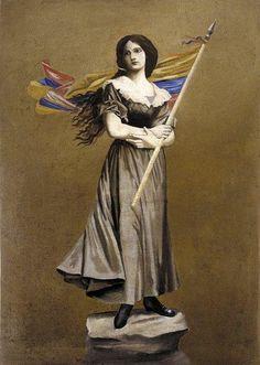 policarpa salavarrieta - Google Search Polaroid, Real Women, Women Empowerment, Literature, Game Of Thrones Characters, Statue, Consideration, Feminism, Painting