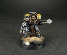 Imperial Fists Cataphractii4 by Dave Paints