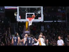 Nick Young's Dazzling Crossover and Circus Finish