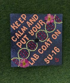 Biology graduation cap