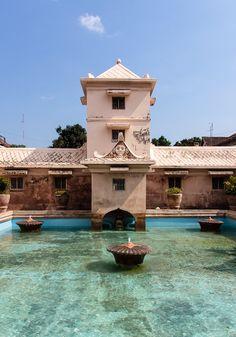 Water Palace, sultan's palace, Yogyakarta, Indonesia