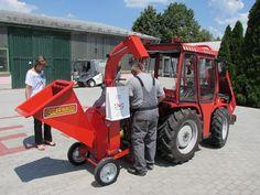 Szigetszentmiklóson is aprít a Caravaggi Bio 190 Caravaggio, Tractors, Monster Trucks