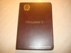 ***  I think we should get this.  Looks amazing, not too  much to worry about clearance wise.  Tapes, manuals, case, all awesome. (see more pics on ebay)  ITALIAN 1 , ITALIAN LANGUAGE COURSE, 3 cassettes , 2 manuals, SEE PICS!!! | eBay