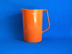 Decor Australia Orange Plastic Water Jug or Pitcher  by FunkyKoala