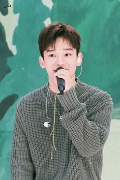 Exo 2014, Waiting For Baby, Xiuchen, Kim Jongdae, Exo K, Chanyeol, Dog Tag Necklace, Singer, Kpop