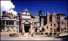 Miramont Castle was constructed in 1895 as a private home for Father Jean Baptist Francolon, a French born Catholic priest. The castle features nine styles of architecture ranging from English Tudor to Byzantine and all crafted from locally quarried greenstone and yellow pine framing. Today Miramont is a museum dedicated to preserving the Victorian heritage of Manitou Springs and the Pikes Peak region. Miramont Castle was added to the National Register of Historic Places on May 3, 1977…