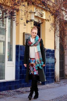 Bommel, Fake Fur, Schal, Winter Outfit, Mode, Winter Mode, Winter Look, Mode Blog, Modeblog, Berlin, Influencer, Finde deinen Stil, Advance Your Style, Modetipps